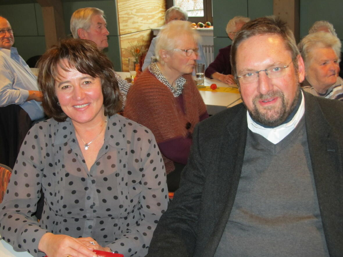 2. Bgm. Karina Ruf und Pfr. Mathias Kotonski
