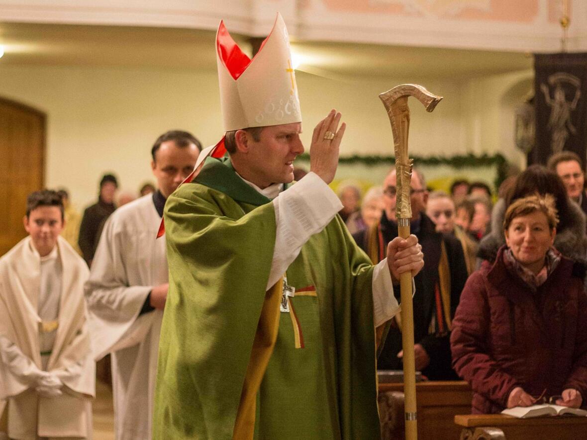Weihbischof Florian Wörner in Gablingen