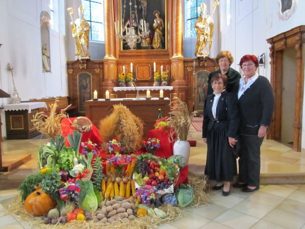 Erntedank-Altar 2016