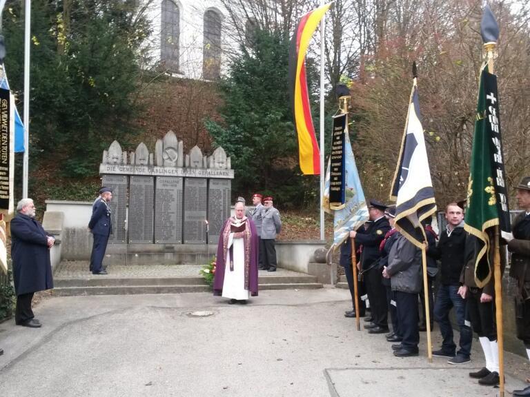 Volkstrauertag - Totengedenken 2015