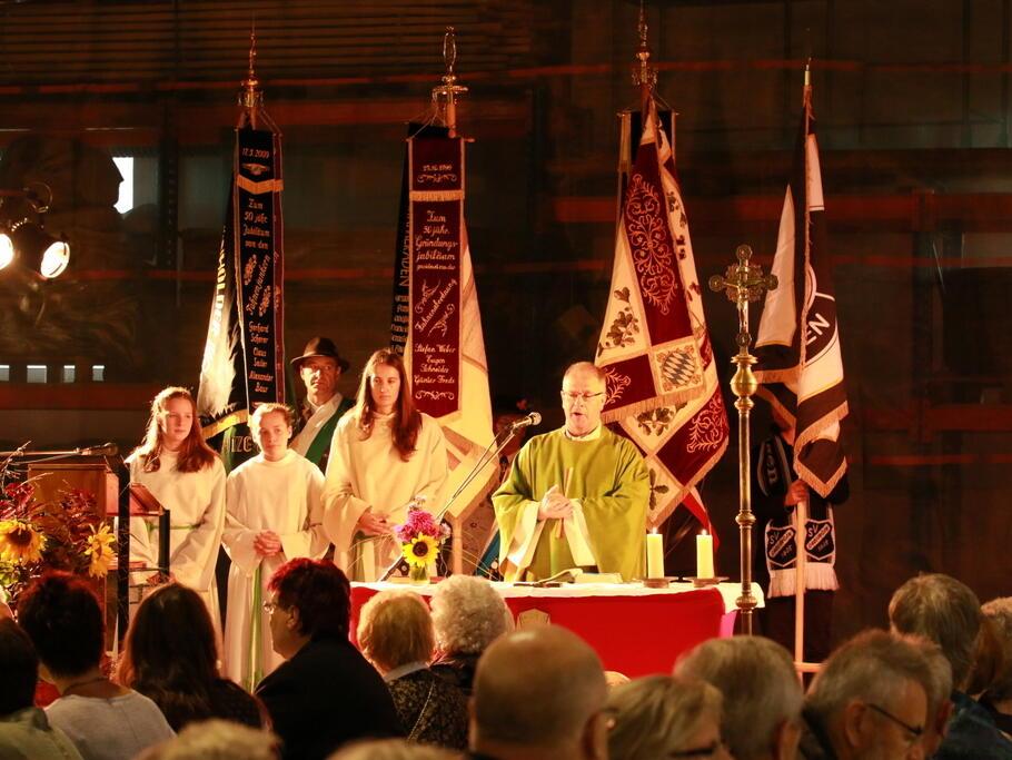Erntedankgottesdienst im Rotterstadl 2015