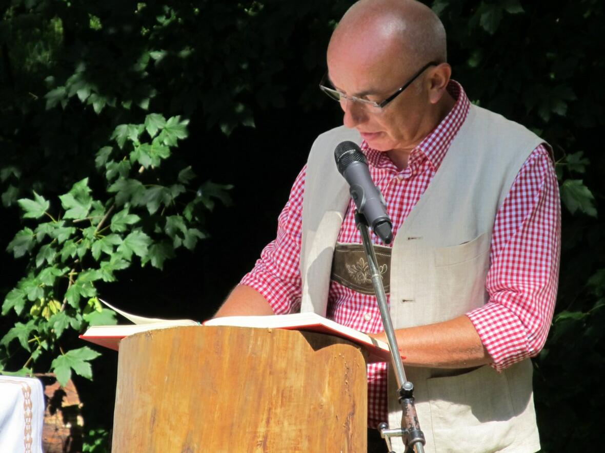 Robert Mayer bei der 2. Lesung