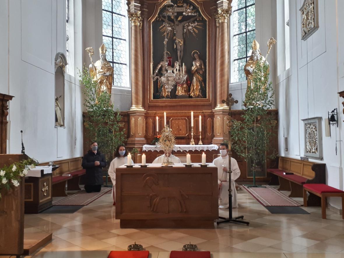 Fronleichnam 2020 - Eucharistischer Segen
