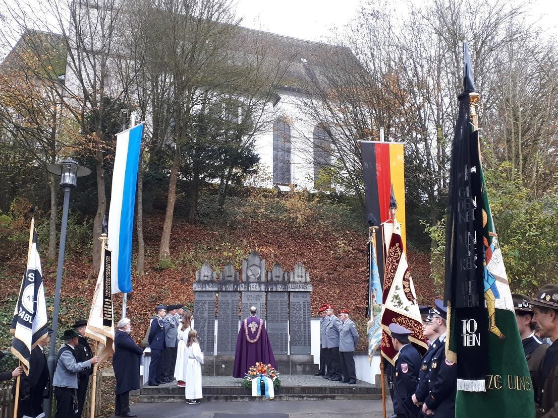 Volkstrauertag 2019 - Totengedenken am Kriegerdenkmal