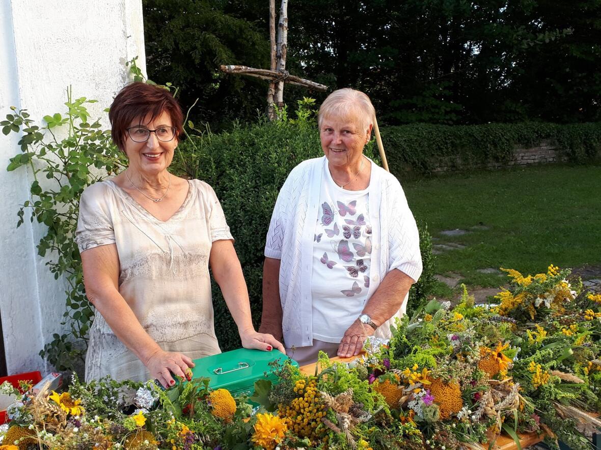 Maria Himmelfahrt 2019 - Kräuterbüschel vom Frauenbund