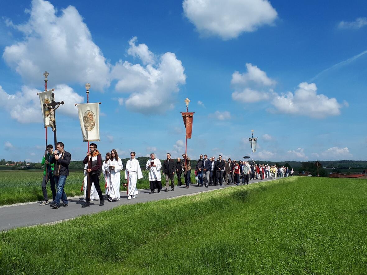 Flurumgang an Christi Himmelfahrt 2019