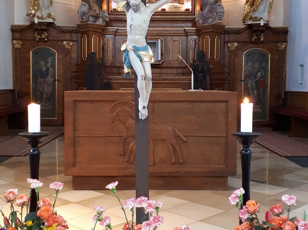 Karfreitag 2019 - seht das Holz des Kreuzes