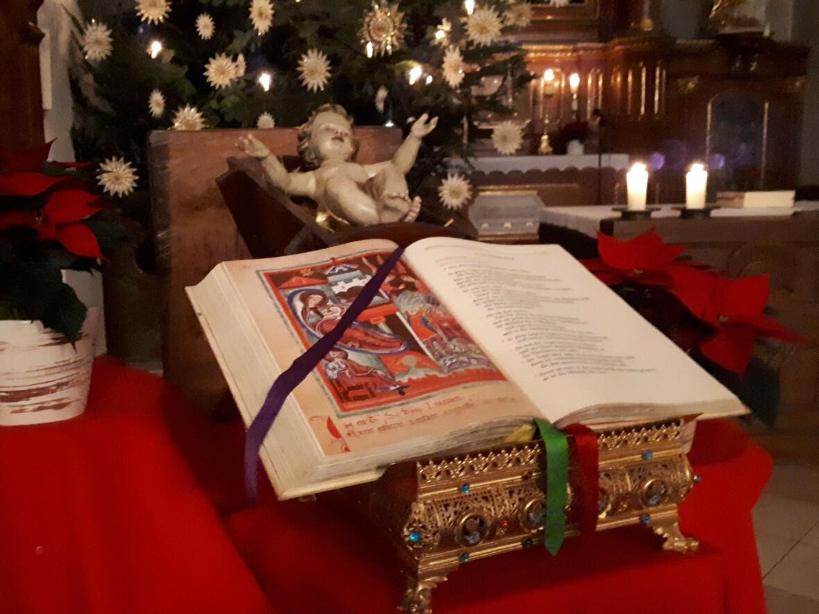 Weihnachten 2018 - ...und das Wort ist Fleisch geworden...