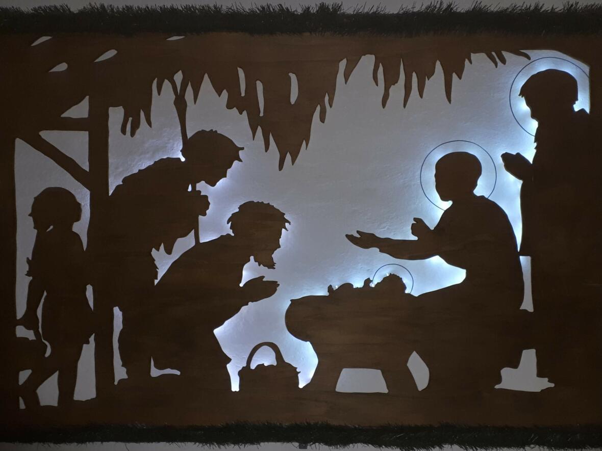Weihnachten 2018 - ...die Hirten kamen eilends und fanden das Kind in der Krippe...