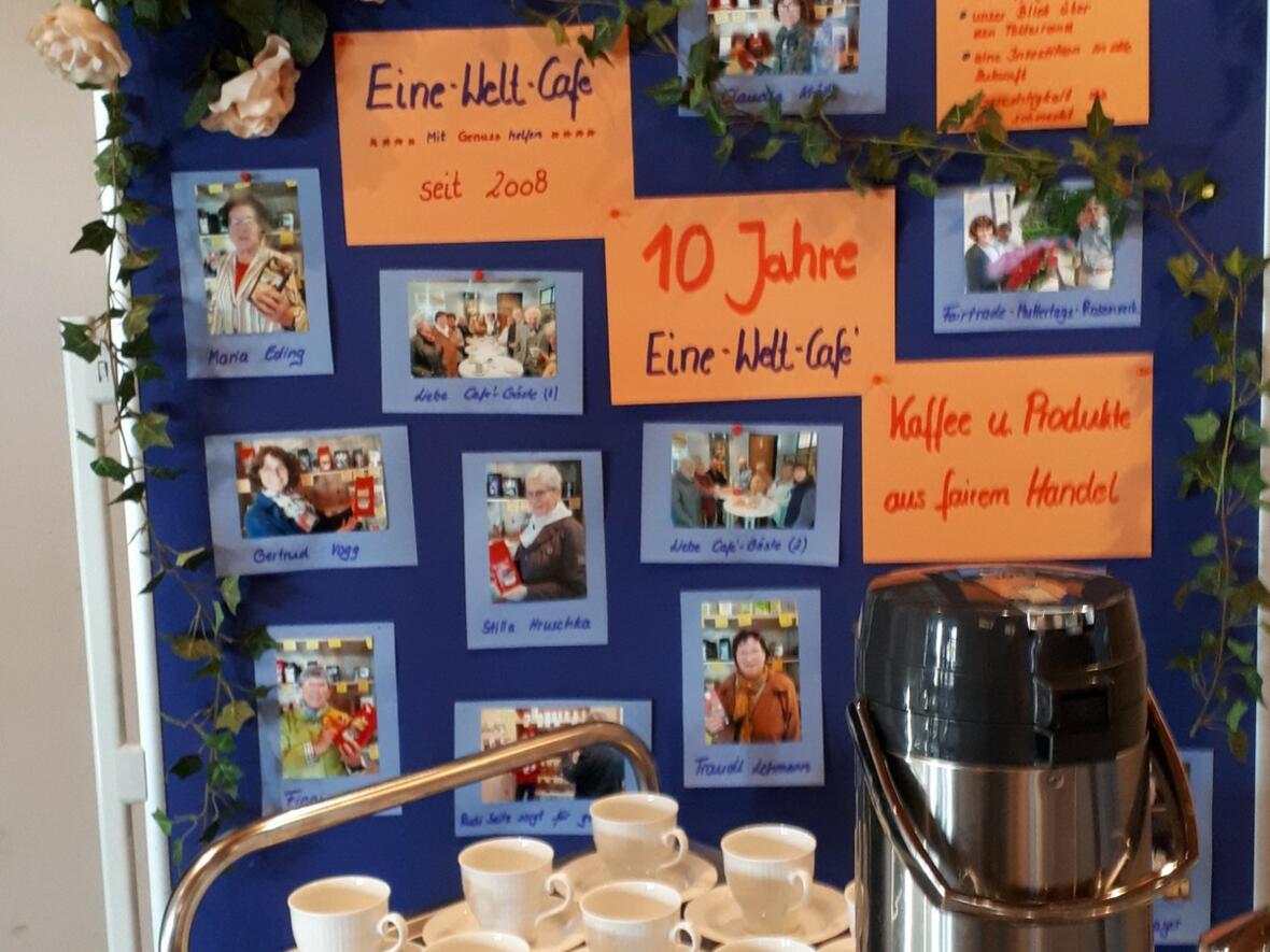 10 Jahre EineWelt Cafe 11.11.2018