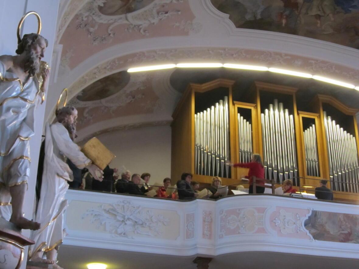 Kirchenchor Gablingen - Mozartmesse beim Patrozinium 2018