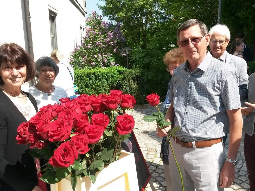 Rosen zum Muttertag - aus fairem Handel