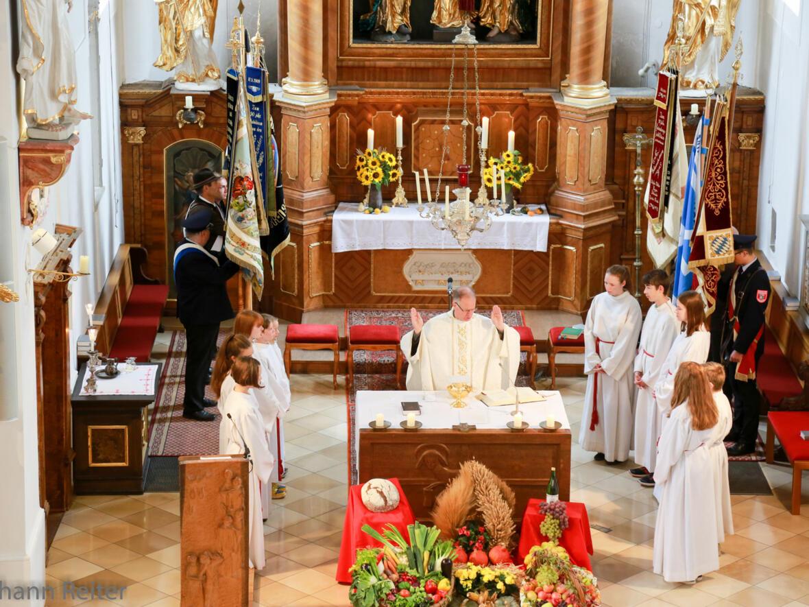 Festgottesdienst zum Erntedank 1. Oktober 2017