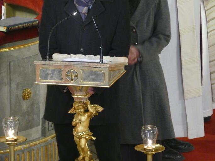 Johannes Unterstein, PGR-Vorsitzender St. Nikolaus in Murnau