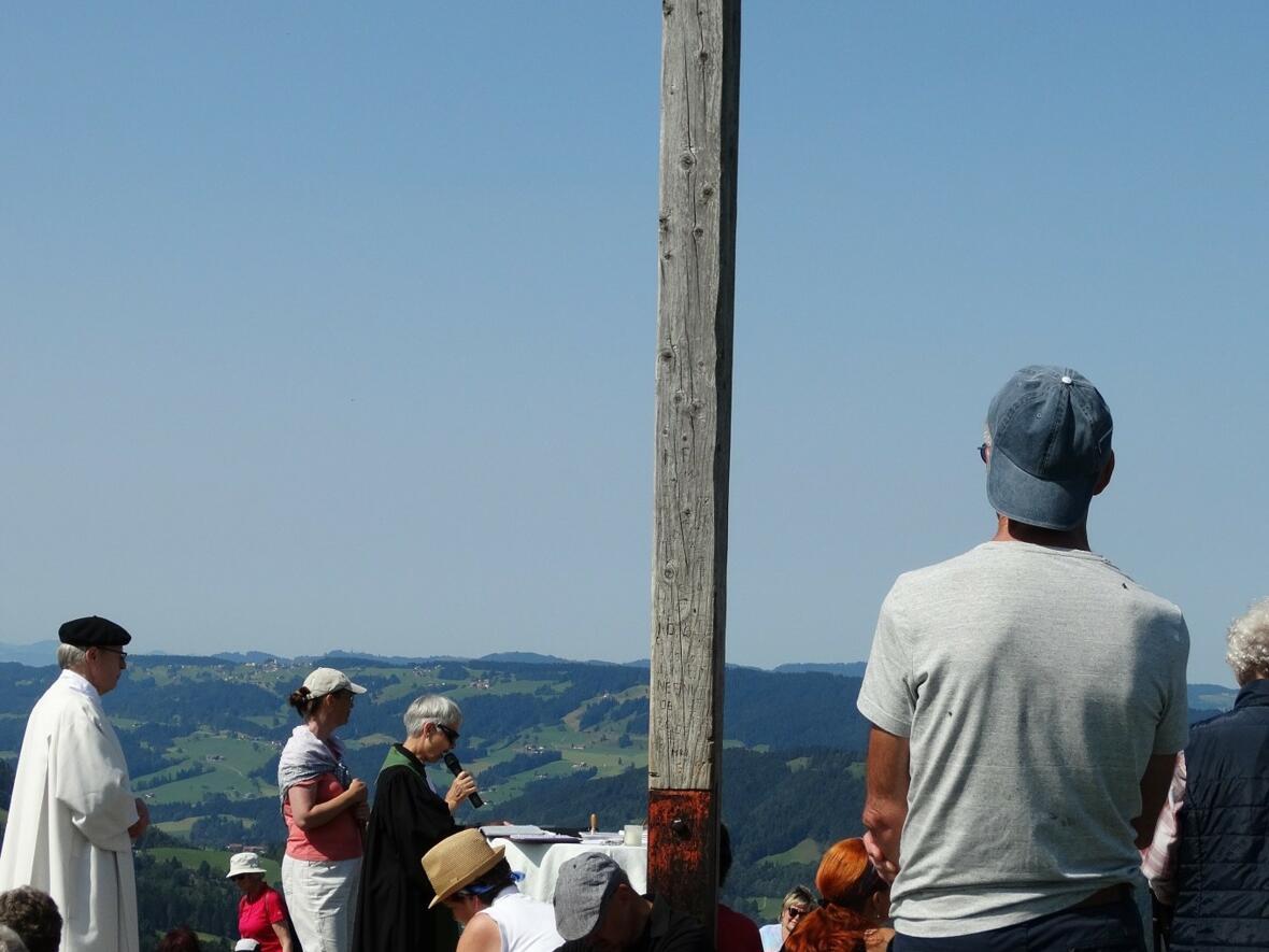 Predigt beim ökum. Berggottesdienst auf dem Hündle