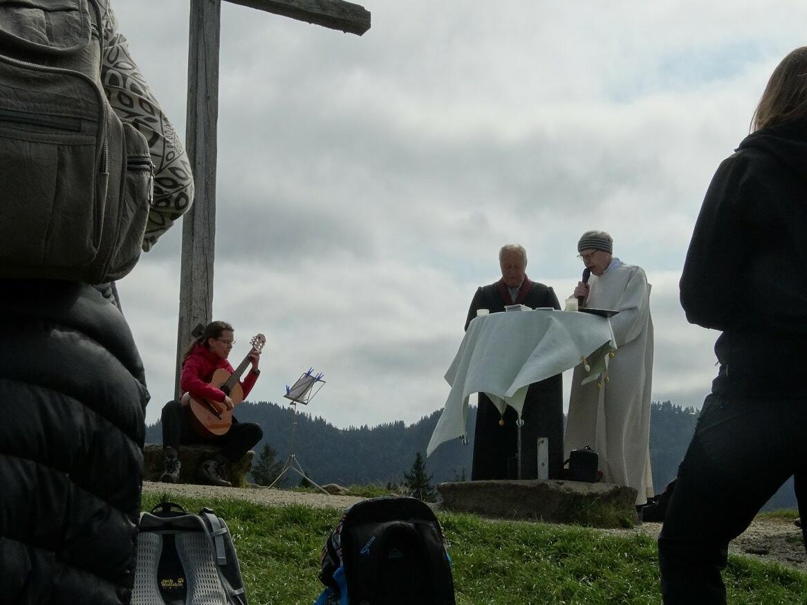 Ökumenischer Berggottesdienst auf dem Hündle