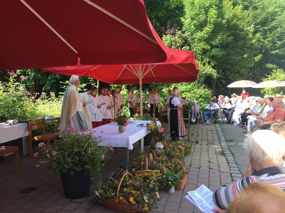 Pfarrgottesdienst zu Mariä Aufnahme in den Himmel