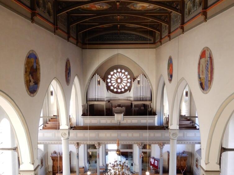 Kirchenschiff von oben