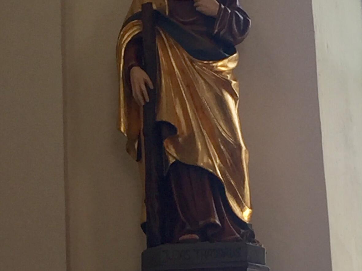 Der Judas, neu geschnitzt von Wendelin Hammerer