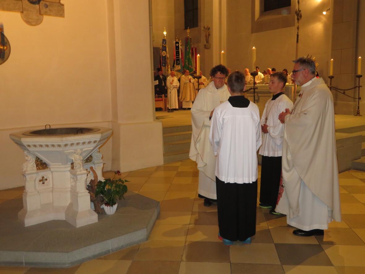 Übernahme der liturgischen Orte