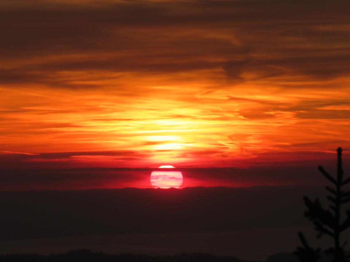 _006 Sonnenuntergang am Hochgrat