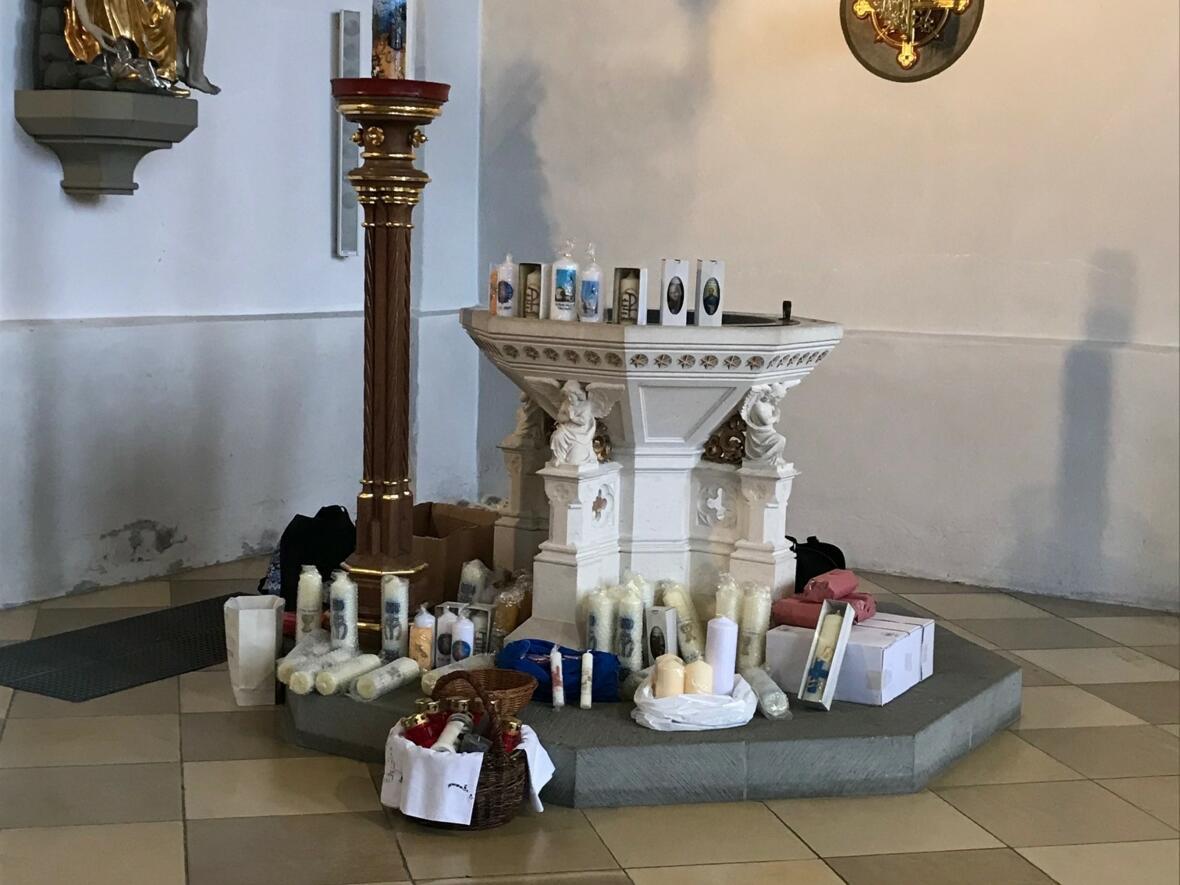 Kerzenweihe und Blasiussegen zu Mariä Lichtmess