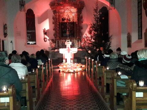 Taizé-Gebet am 20. Januar in der Kapelle Kalzhofen - Lieder singen- miteinander beten- Stille üben- das Herz öffnen- zur Ruhe kommen