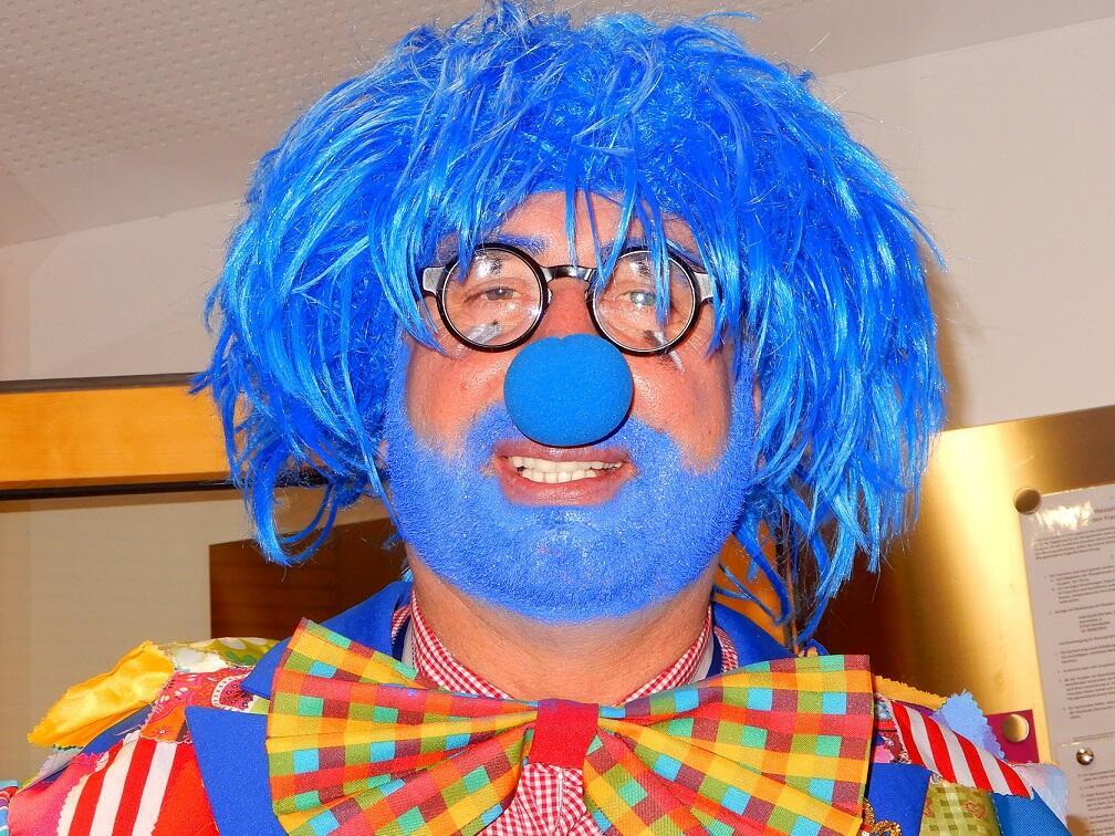 Ein Kölner Clown