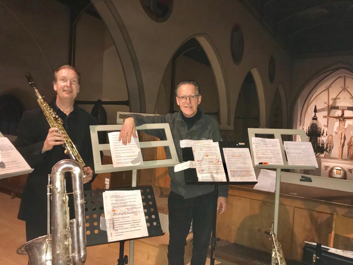 """Konzert """"Die heitere Orgel"""" zur Faschingszeit mit Walter Dolak und Markus Kerber"""