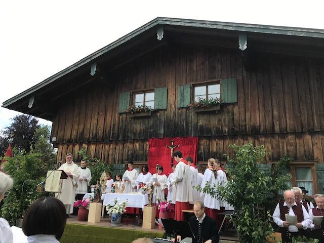 Festgottesdienst am Sonntag, den 23. Juni an der Staufner Buind