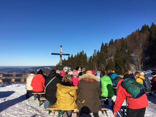 Ökumenischer Berggottesdienst am Imberg, jeweils am Mittwoch um 14.30 Uhr