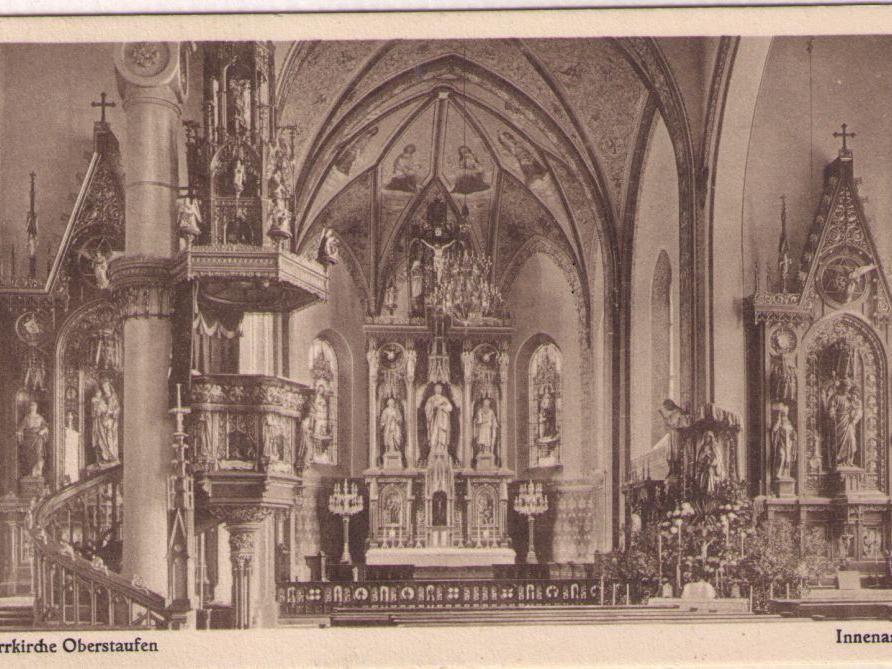 -001Kirche vor Renovierung 1950