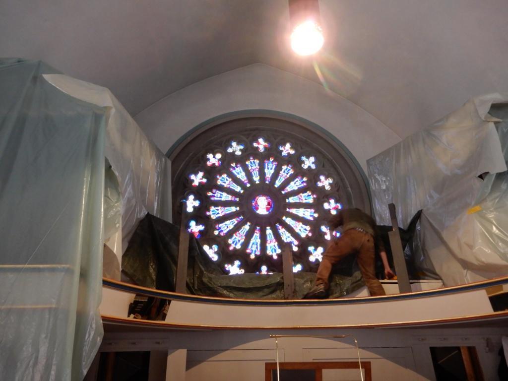 _014 Orgel zudecken