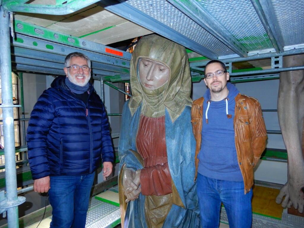 _051 Begehung Pfarrer Matthias mit Bauleiter Müller 29.10.