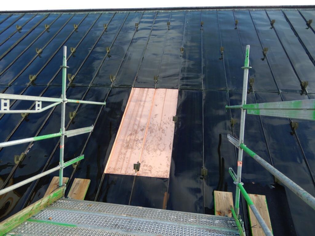 _45 Dachzugang wieder verschlossen