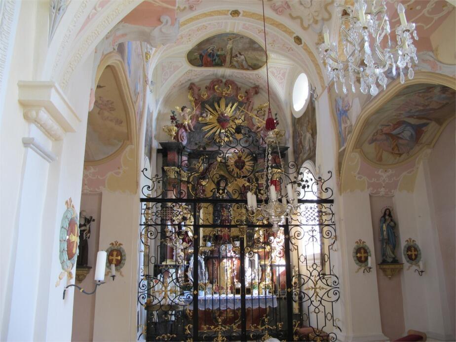 Burgstallkapelle - Innenraum