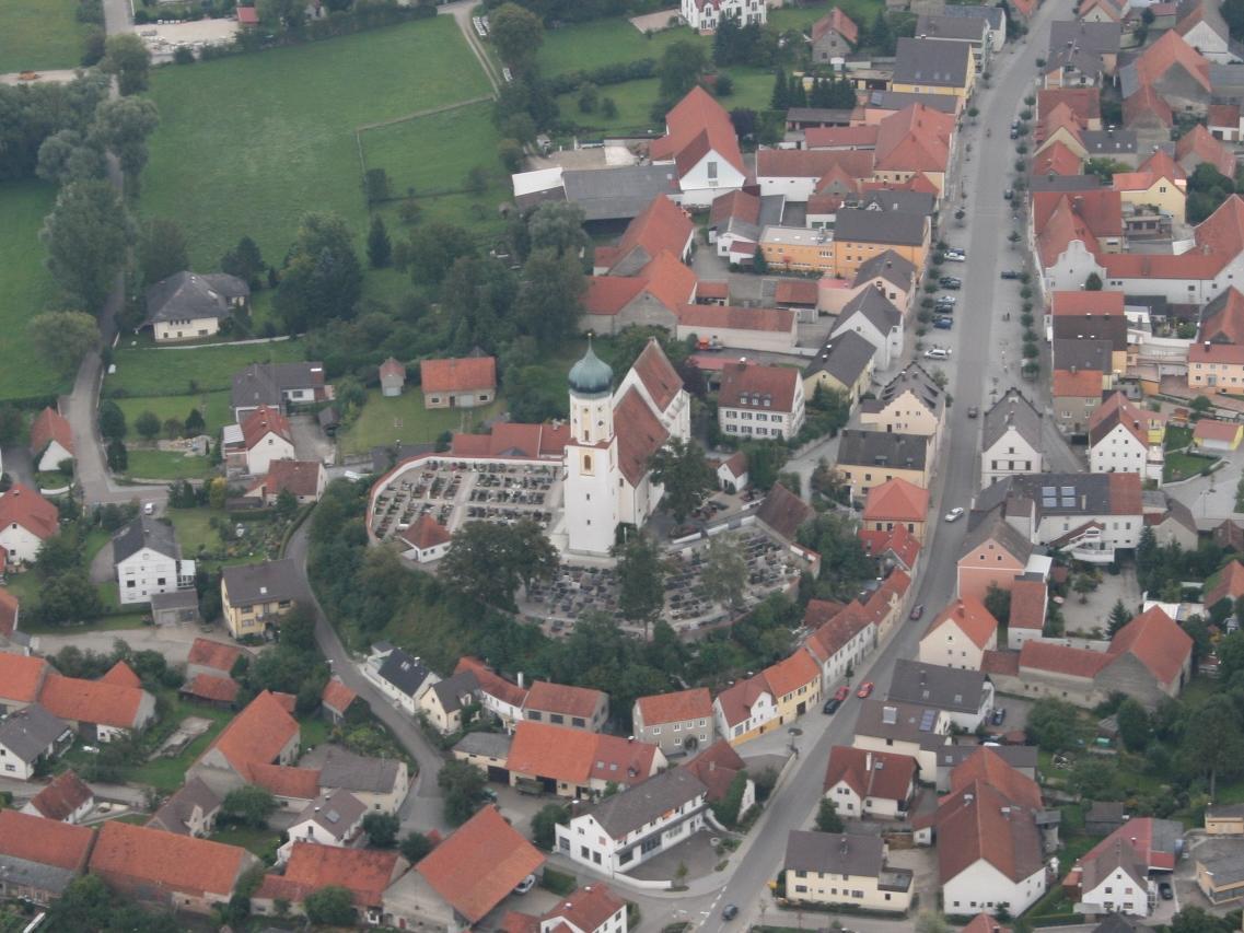 Pfarrkirche in Burgheim