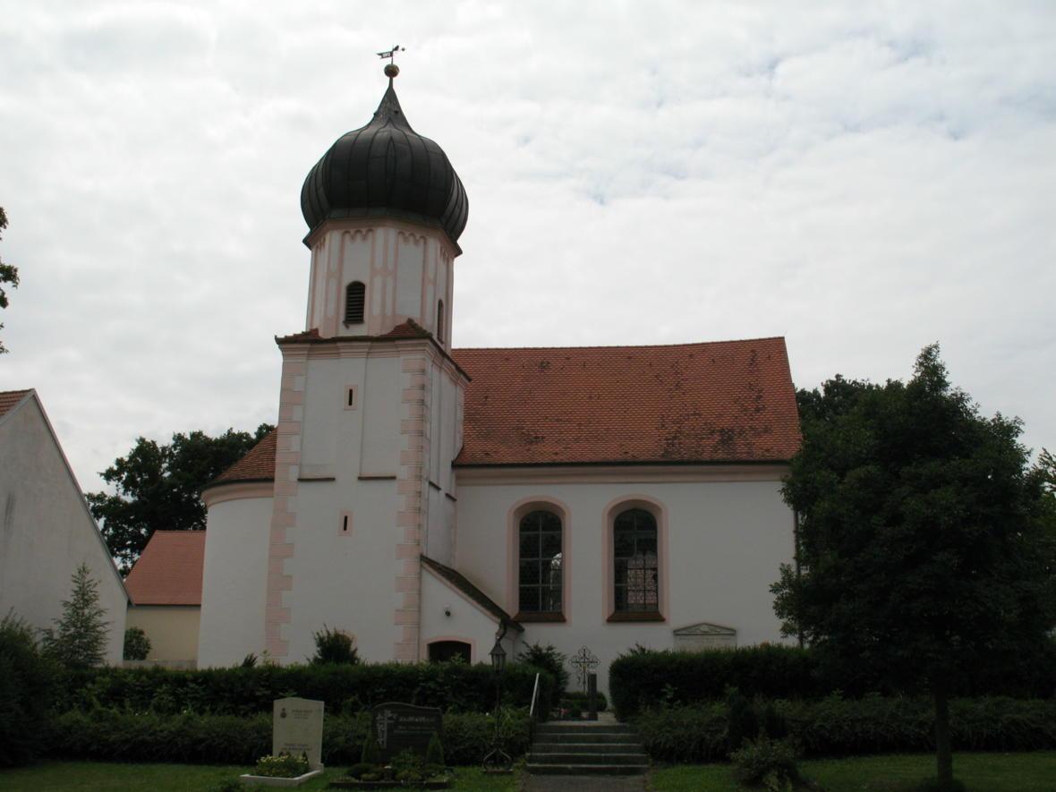 Pfarrkirche in Ortlfing