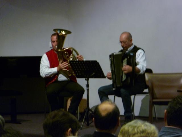 Duo Miller & Ott von den Musikalischen Wirtshausmusikanten
