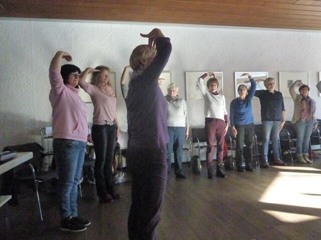LeA- und Sixtyfit-Fortbildung 24.2.2018 - Rhythmus - Taktgeber des Lebens
