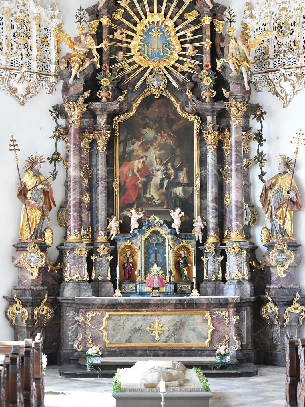 Die restaurierte Maragaretenkapelle