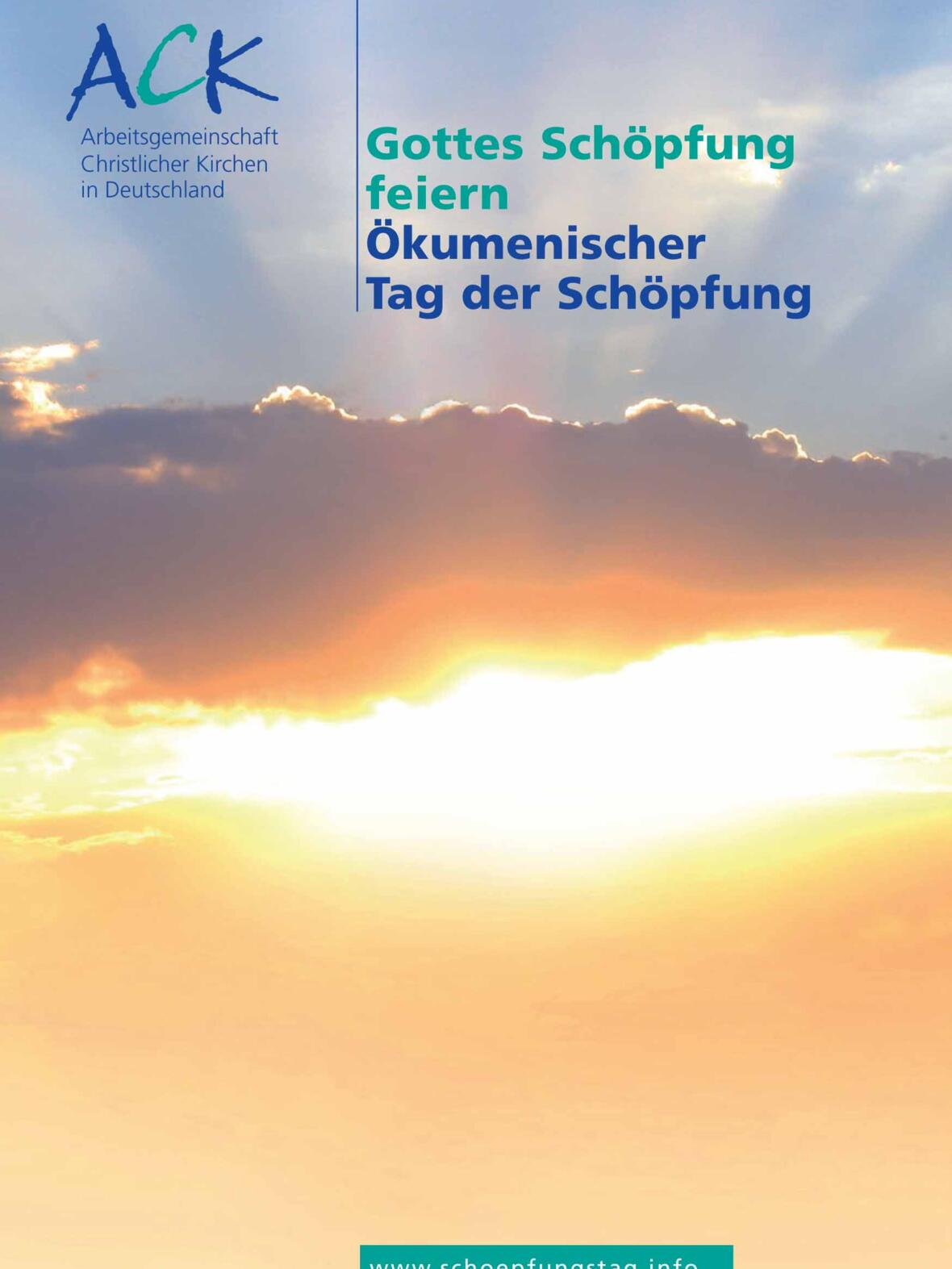 Die ACK begeht den Ökumenischen Tag der Schöpfung seit dem Jahr 2010 (Grafik: ACK)
