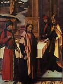 Joachims Opfer und Joachim bei den Hirten von Hans Holbein d. Ä., 1493