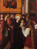 Darstellung Jesu im Tempel und Marienkrönung von Hans Holbein d. Ä., 1493