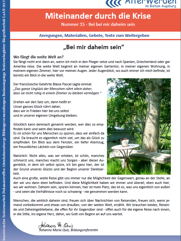 Seite 1 Homepage