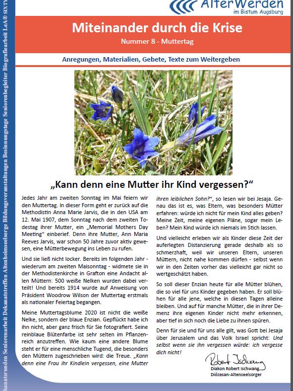 Seite 1 Wochenbrief 8