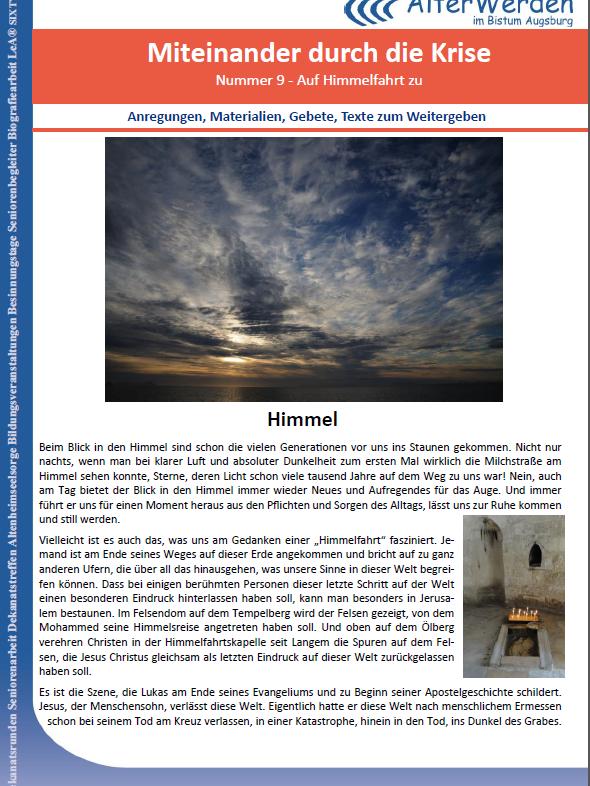 Seite 1 Wochenbrief 9