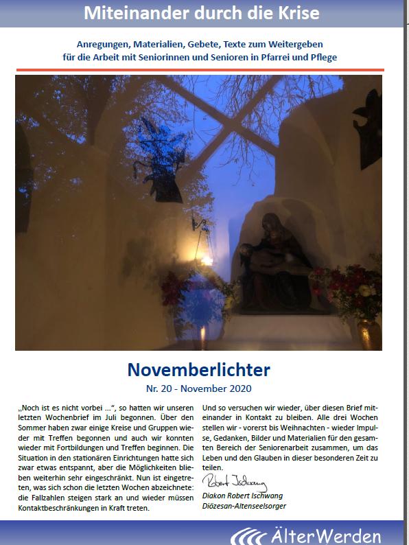 Seite 1 Wochenbrief November