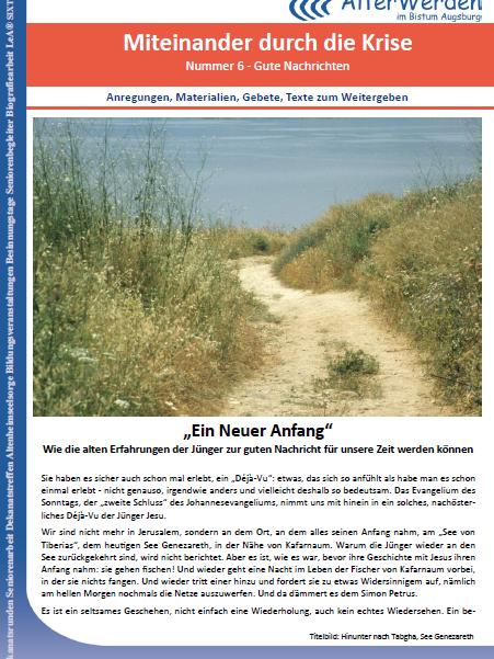 Wochenbrief 1 Seite für Homepage