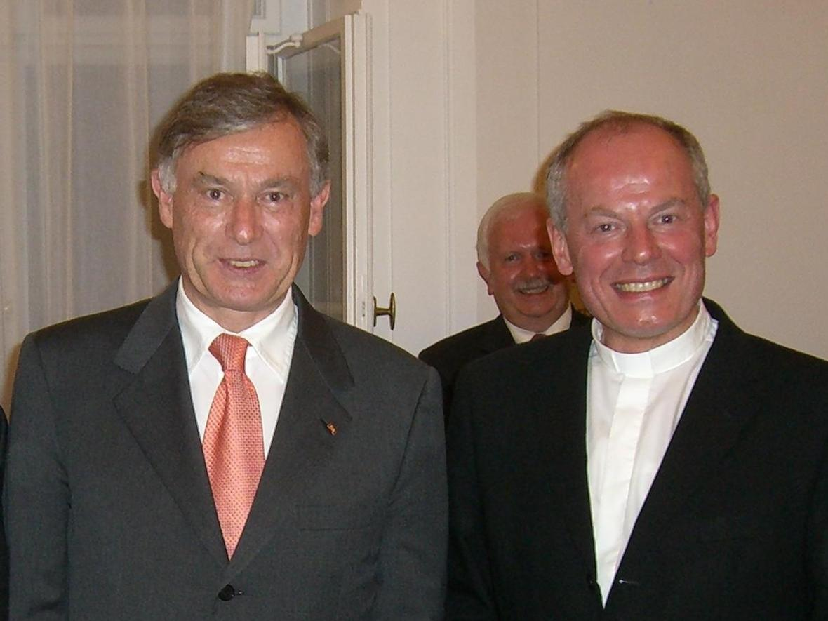2006: Treffen mit dem damaligen Bundespräsidenten Horst Köhler (Foto: Archiv)